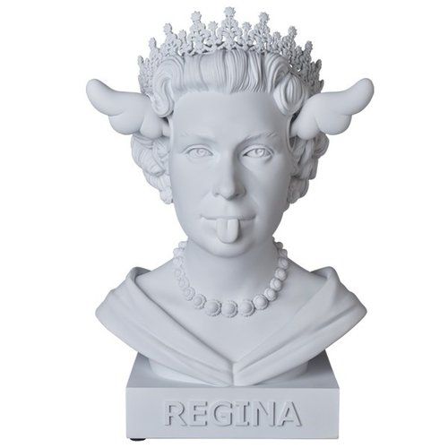 Medicom Toys Dog save the Queen Bust by D*Face
