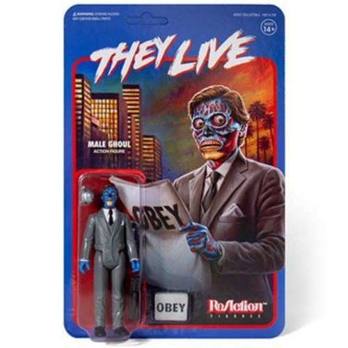 Super 7 Male Ghoul (They Live) ReAction