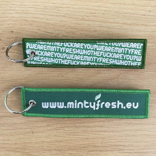Creamlab Mintyfresh (Green #01) Flight Tag Keychain