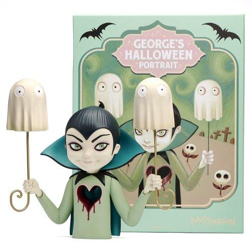 Martian Toys George's Halloween Portrait (OG) by Tara McPherson