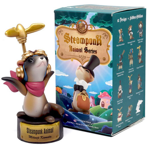 Pop Mart Steampunk Animal Series by Manas x Kamaty Moon