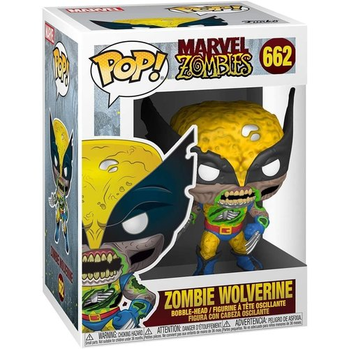 Funko Zombie Wolverine #662 (Marvel Zombies) POP! Marvel
