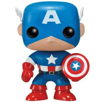 Captain America  #06 (Marvel Comics) POP! Marvel