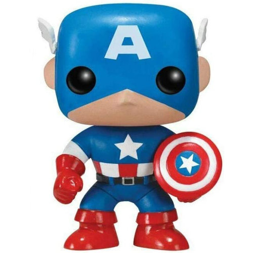 Funko Captain America  #06 (Marvel Comics) POP! Marvel