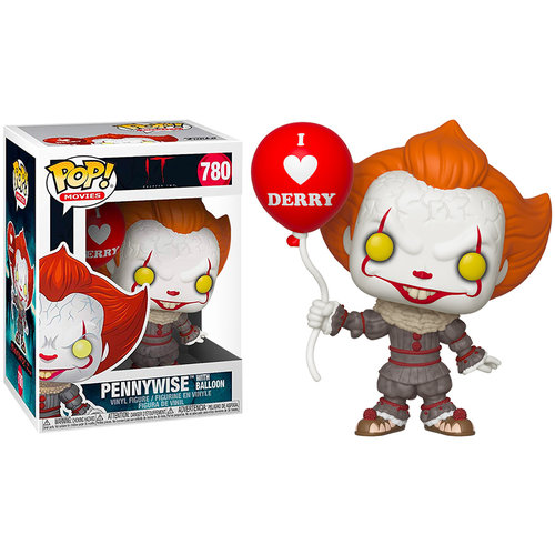 Funko Pennywise with Balloon  #780 (Stephen King's IT) POP! Movies