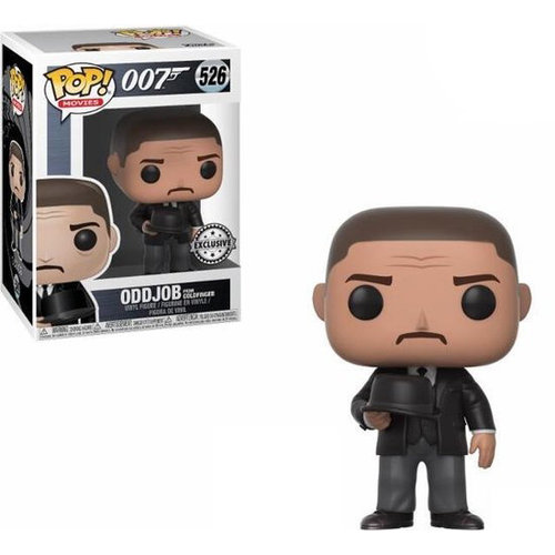 Funko Oddjob from Goldfinger #526 (James Bond) POP! Movies