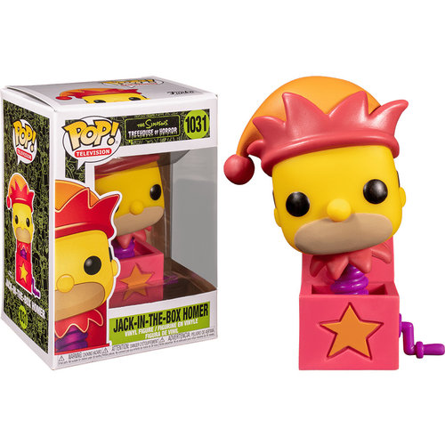 Funko Jack-In-The-Box Homer #1031 (The Simpsons) POP! TV