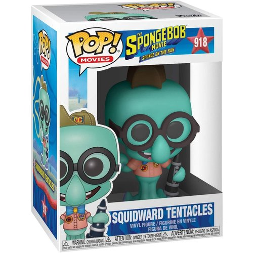 Funko Squidward Tentacles Camping Gear #918 (The Spongebob Movie) POP! Movies