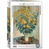 Jerusalem Artichoke Flowers Puzzle (1000 pcs) by Claude Monet