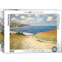 Path Through the Wheat Fields Puzzle (1000 pcs) by Claude Monet