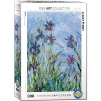 Irises (Detail) Puzzle (1000 pcs) by Claude Monet