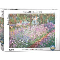 Monet's Garden Puzzle (1000 pcs) by Claude Monet