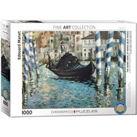 The Grand Canal of Venice Puzzle (1000 pcs) by Edouard Manet