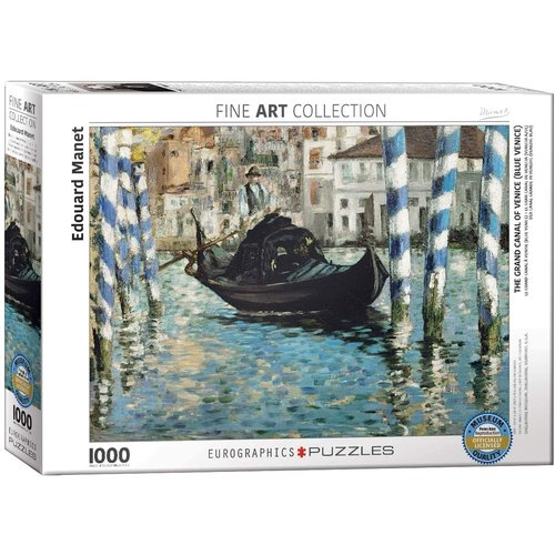 Eurographics The Grand Canal of Venice Puzzle (1000 pcs) by Edouard Manet