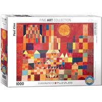 Castle and Sun Puzzle (1000 pcs) by Paul Klee