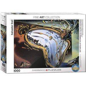 Eurographics Soft Watch at the Moment of it's First Explosion Puzzle (1000 pcs) by Salvador Dalí