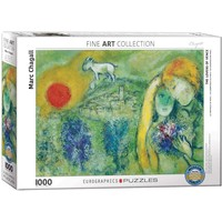 The Lovers of Venice Puzzle (1000 pcs) by Marc Chagall