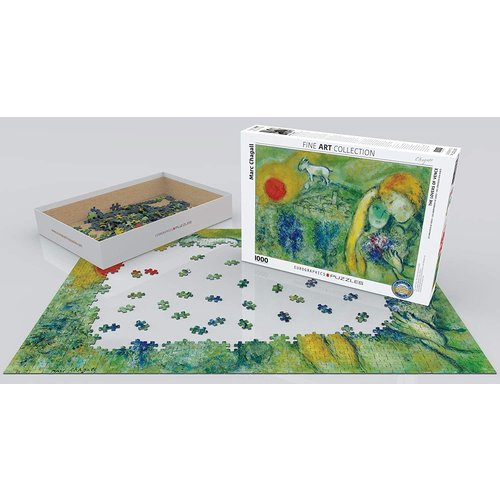 Eurographics The Lovers of Venice Puzzle (1000 pcs) by Marc Chagall