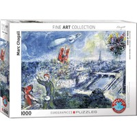 Le Bouquet de Paris (1000 pcs) by Marc Chagall
