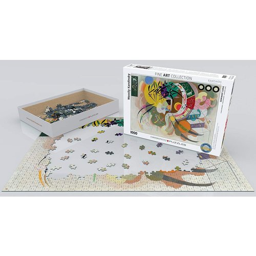 Eurographics Dominant Curve Puzzle (1000 pcs) by Wassily Kandinsky