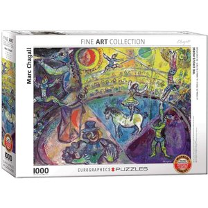 Eurographics The Circus Horse Puzzle (1000 pcs) by Marc Chagall