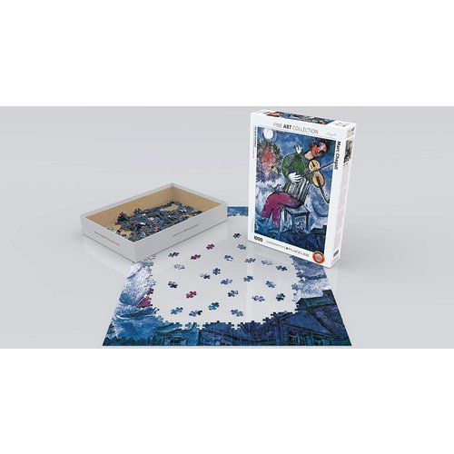 Eurographics The Blue Violinist Puzzle (1000 pcs) by Marc Chagall