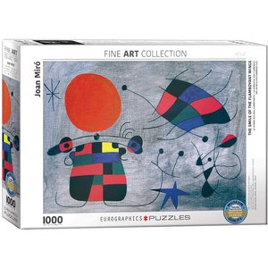 Eurographics Smile of the Flamboyant Wings Puzzle (1000 pcs) by Joan Miro