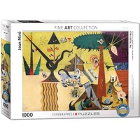 The Tilled Field Puzzle (1000 pcs) by Joan Miro