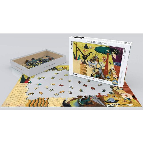 Eurographics The Tilled Field Puzzle (1000 pcs) by Joan Miro