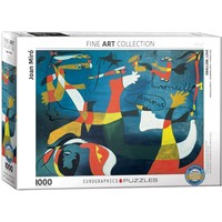 Swallow Love Puzzle (1000 pcs) by Joan Miro