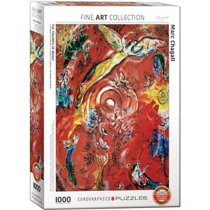 Eurographics The Triumph of Music Puzzle (1000 pcs) by Marc Chagall