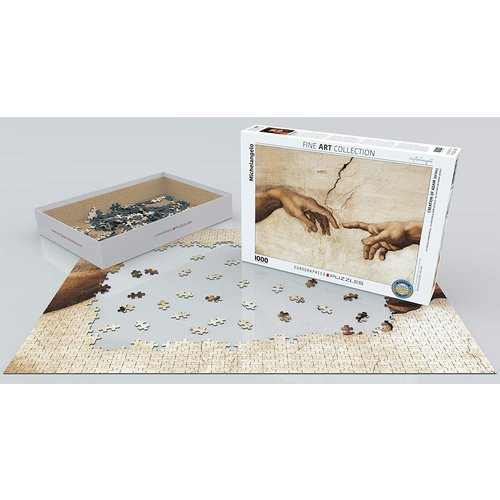 Eurographics Creation of Adam (Detail) Puzzle (1000 pcs) by Michelangelo