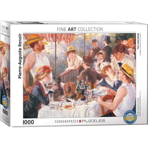 Eurographics The Luncheon Puzzle (1000 pcs) by Pierre-Auguste Renoir