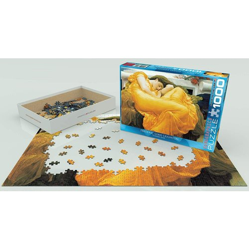 Eurographics Flaming June Puzzle (1000 pcs) by Frederic Lord Leighton