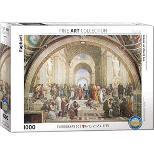Eurographics School of Athens Puzzle (1000 pcs) by Raphael