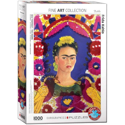 Eurographics Self-Portrait - The Frame Puzzle (1000 pcs) by Frida Kahlo