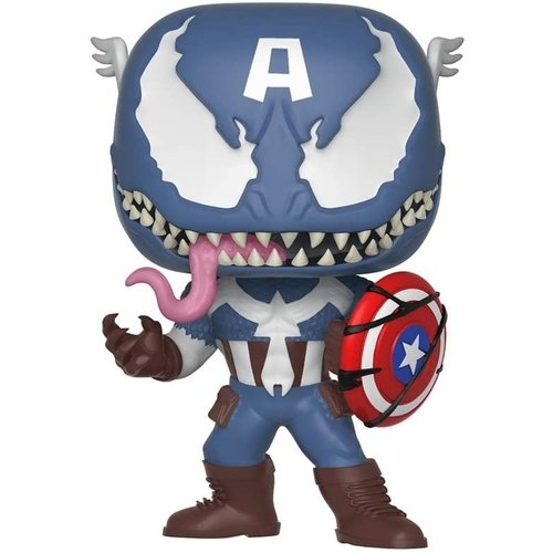 Funko Venomized Captain America #364 (Venom Series) POP! Marvel