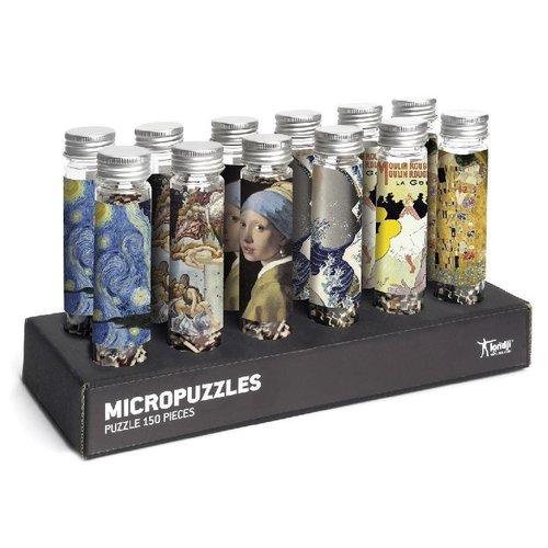 Londji Classic Art Mix #1 Micropuzzles (150 pcs)