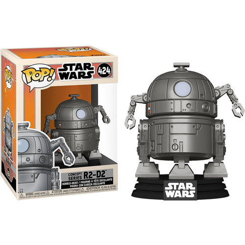 Funko R2-D2 Concept #424 (Star Wars: Concept Series) POP! Star Wars