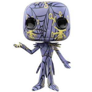 Funko Jack Skellington Purple #05 (The Nightmare Before Christmas) POP! Art Series
