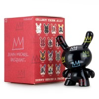 Jean-Michel Basquiat Faces Dunny series 2