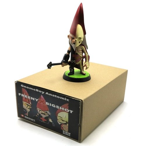 "Big Toyworks Ragnar ""The Metal Gnome"" Hellstrummer (Gnomeboys Anatomic) by Jason Freeny"