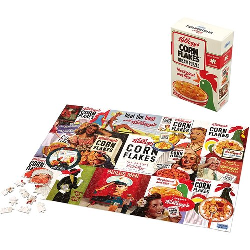 Gibsons Kellogg's Cornflakes Double-sided Puzzle (500 pcs) by Kellogg's