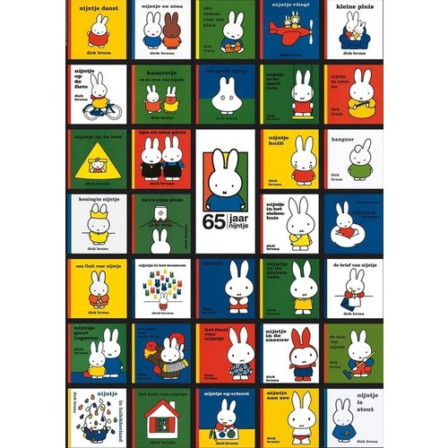 Ravensburger Miffy's 65th Birthday Puzzle (1000 pcs) by Dick Bruna