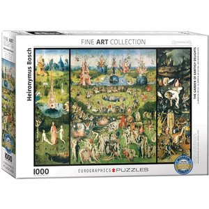 Eurographics The Garden of Earthly Delights Puzzle (1000 pcs) by Jheronimus Bosch