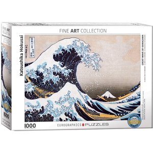 Eurographics The Great Wave of Kanagawa Puzzle (1000 pcs) by Katsushika Hokusai