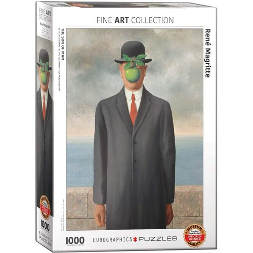 Eurographics The Son of Man Puzzle (1000 pcs) by Rene Magritte