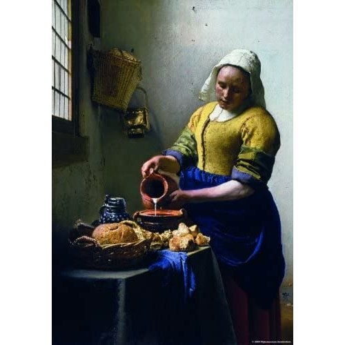 Puzzelman The Kitchen Maid Puzzle (1000 pcs) by Johannes Vermeer