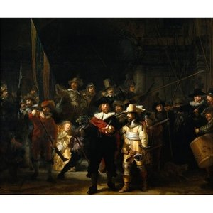 Puzzelman The Night Watch Puzzle (1000 pcs) by Rembrandt van Rijn