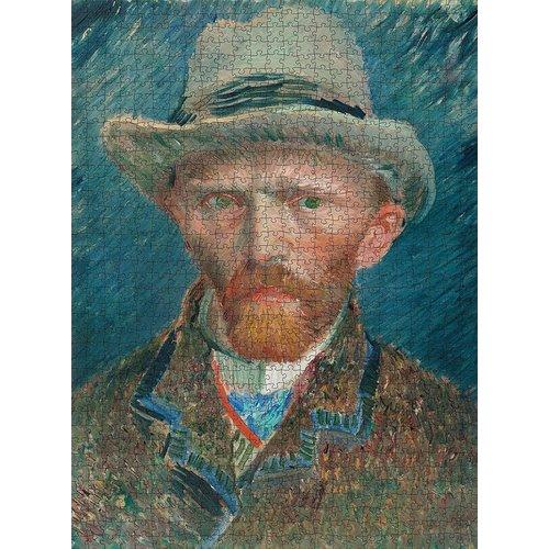 Puzzelman Self-portrait Puzzle (1000 pcs) by Vincent Van Gogh